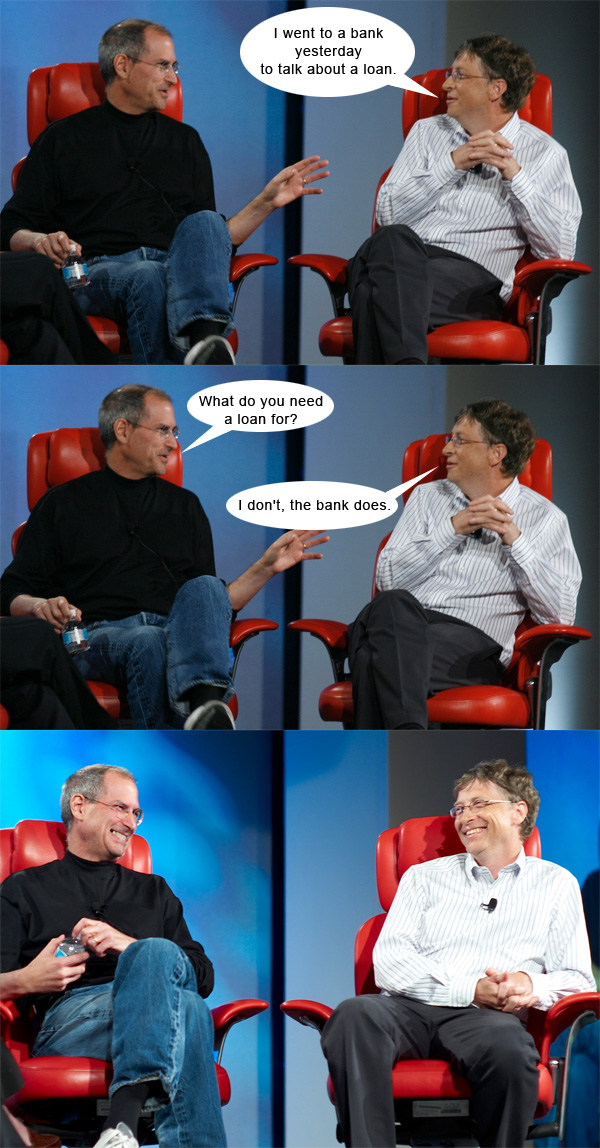 Steve Jobs vs. Bill Gates #3