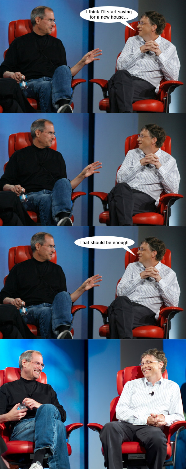 Steve Jobs vs. Bill Gates #5