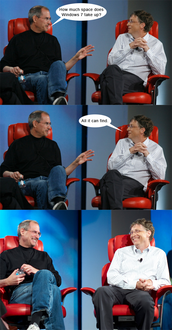 Steve Jobs vs. Bill Gates #6