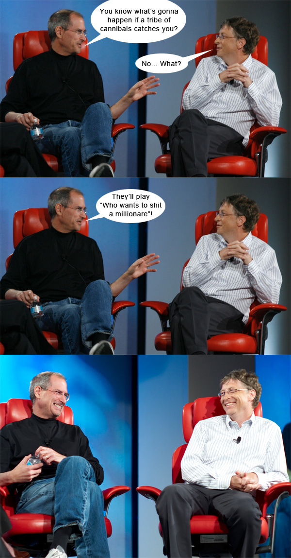 Steve Jobs vs. Bill Gates #7