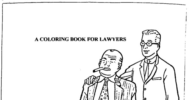 coloring book for lawyers a coloring book for lawyers texags