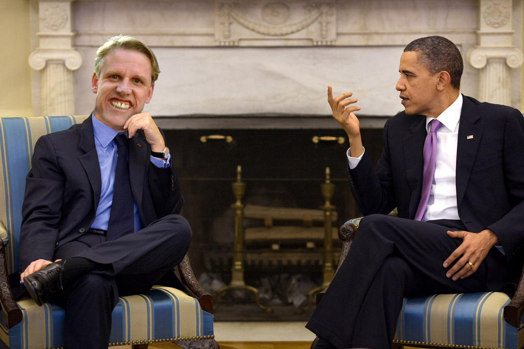 Gary Busey and Obama