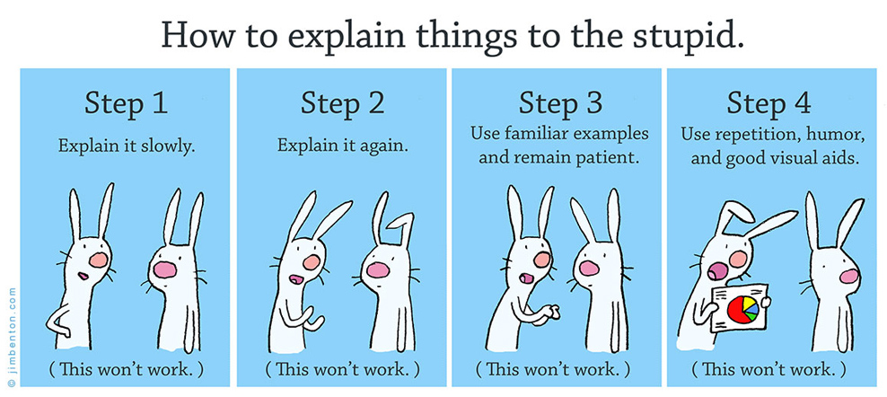How to Explain Stuff to the Stupid