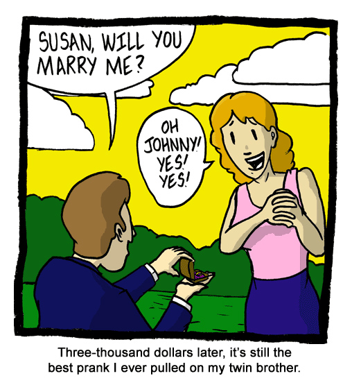 Susan, Will You Marry Me?