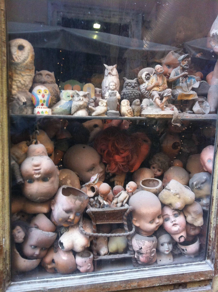 A Shop Window in Rome