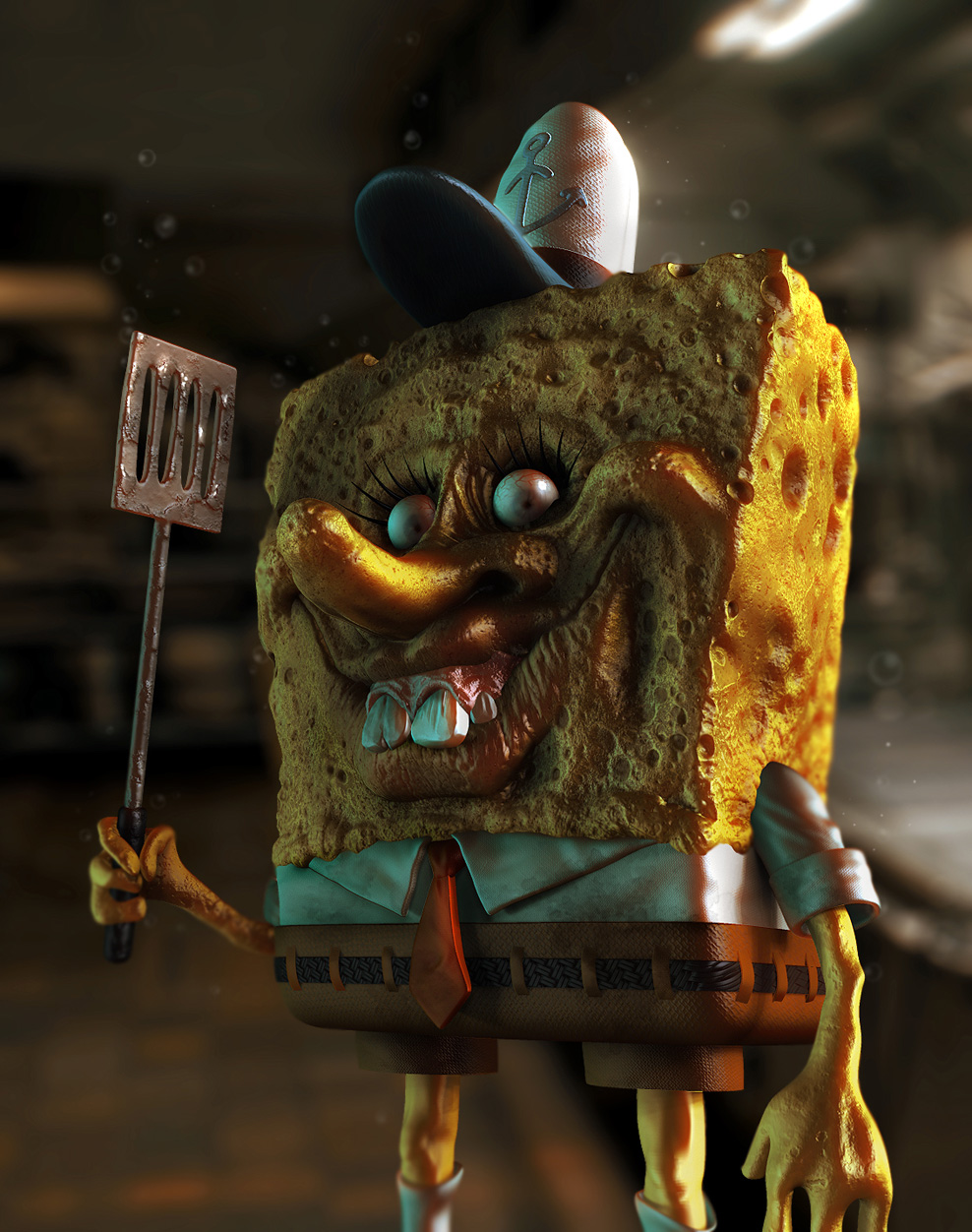 SpongeBob from Hell