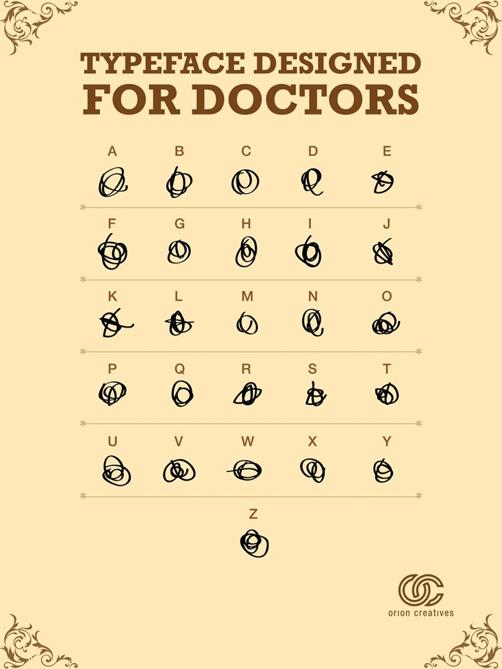 Font for Doctors