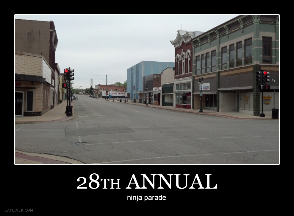28th Annual Ninja Parade