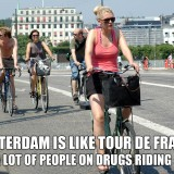 Amsterdam is Like Tour de France