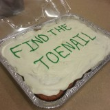 Find the Toenail Cake