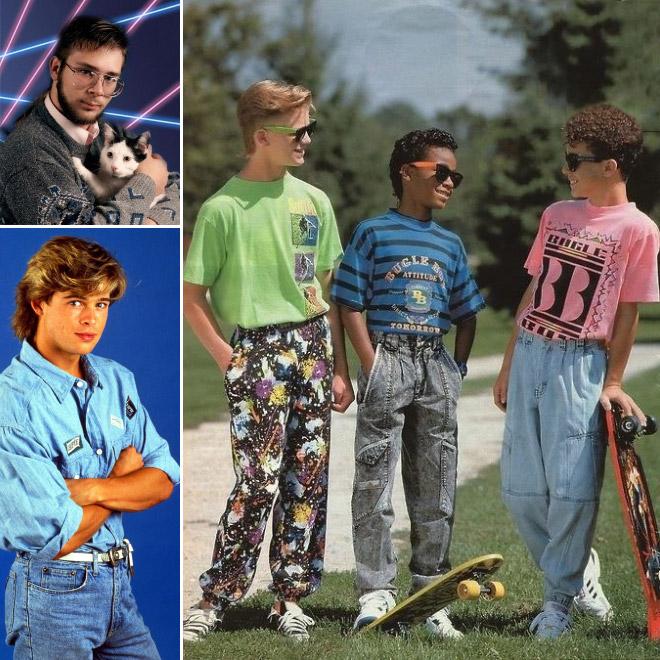 Funny 80s Fashion