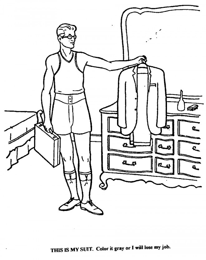 lawyer coloring book | Coloring Pages