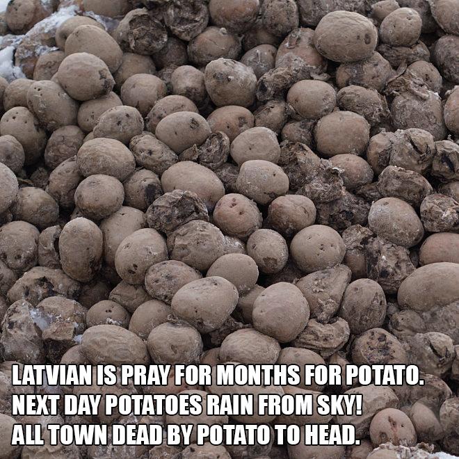 Aren't Latvian jokes just the best?
