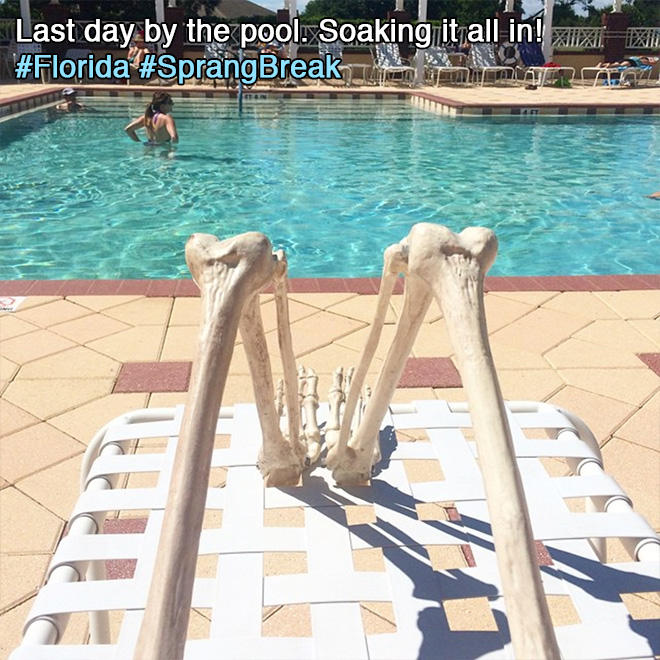Last day by the pool. Soaking it all in!