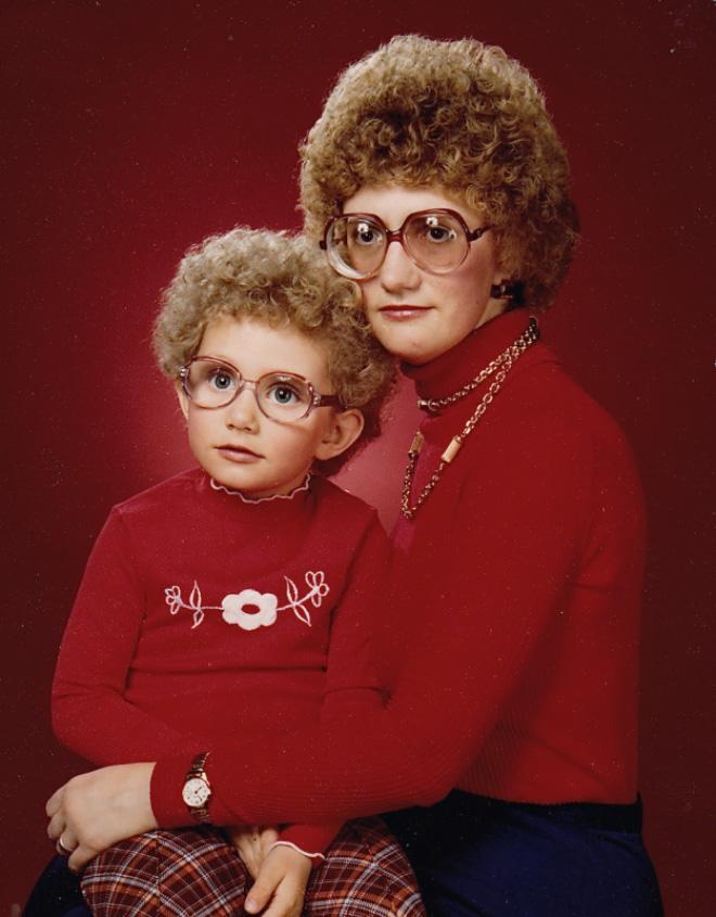 Awkward 1980s portrait.