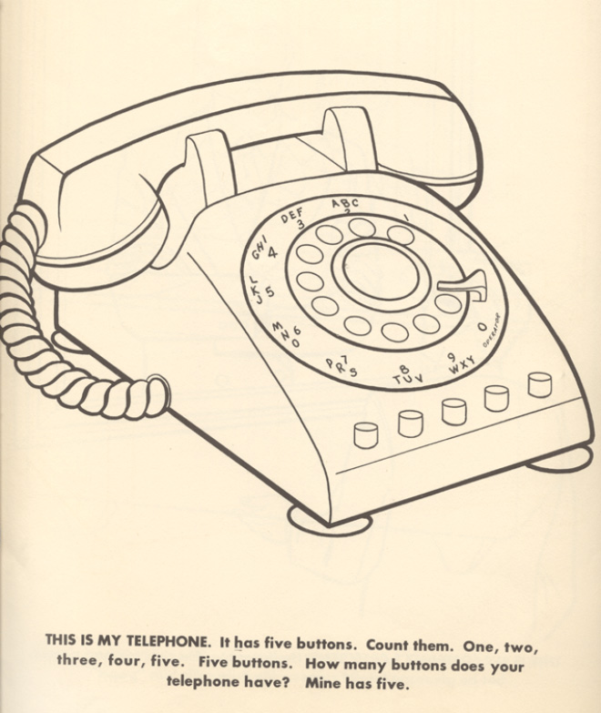 This is my telephone.
