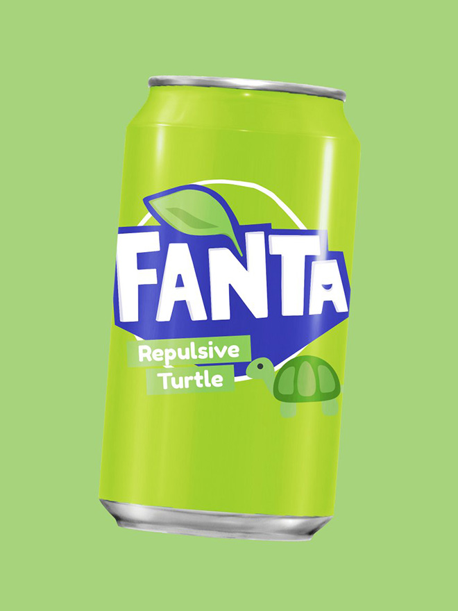 Time for a Repulsive Turtle Fanta!