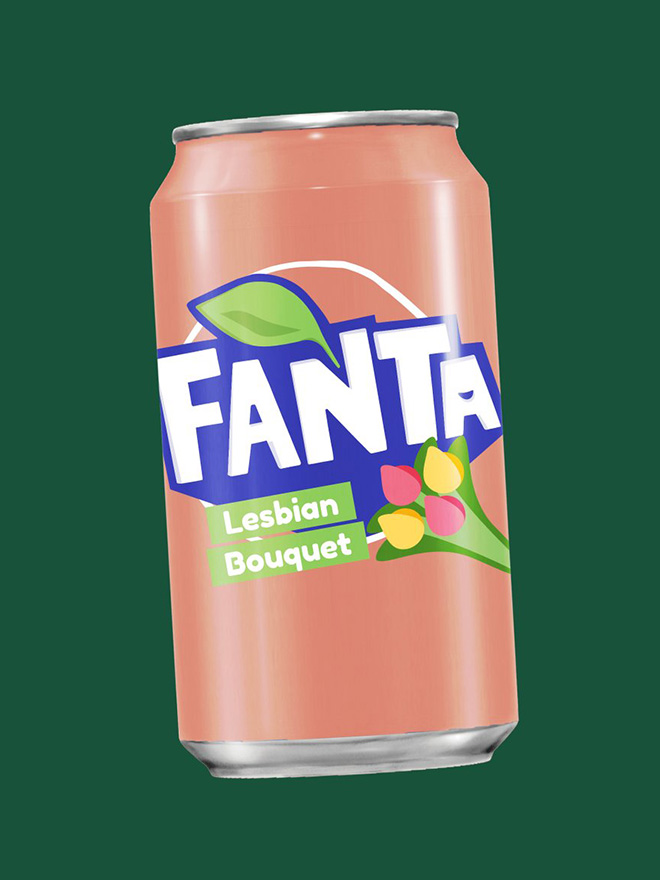 Beat the heat with Lesbian Bouquet Fanta!