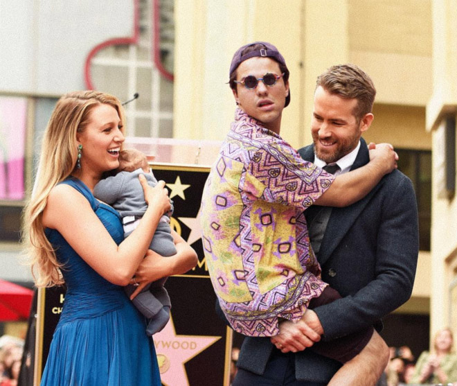 Being carried by Ryan Reynolds sure is fun.