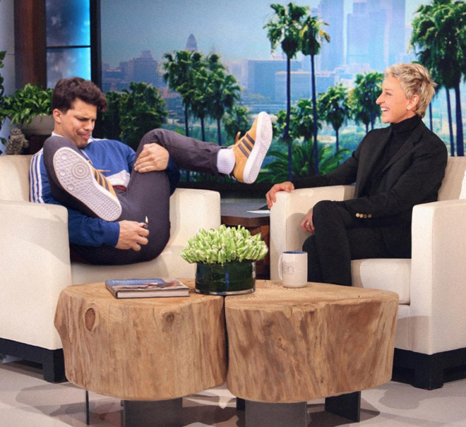 Ellen DeGeneres loves fart jokes.