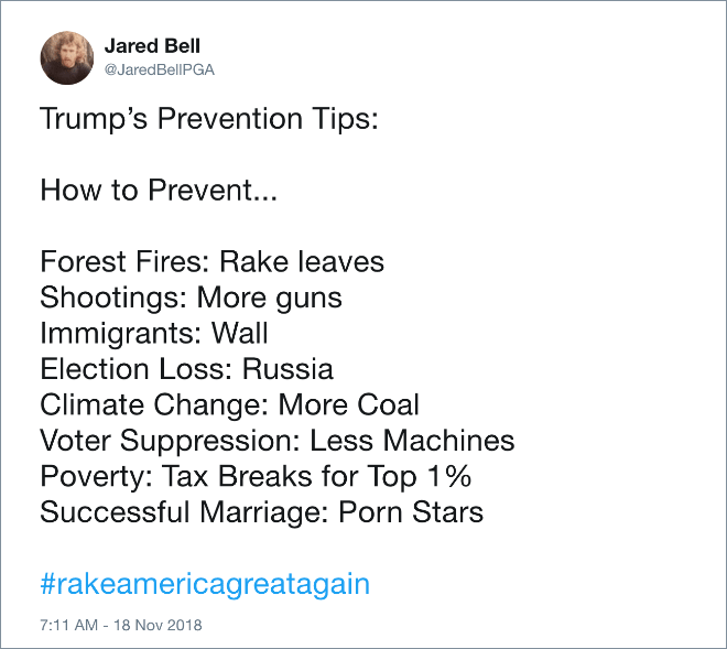 Trump's greatest tips.