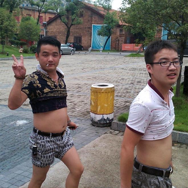 Beijing bikini guys.
