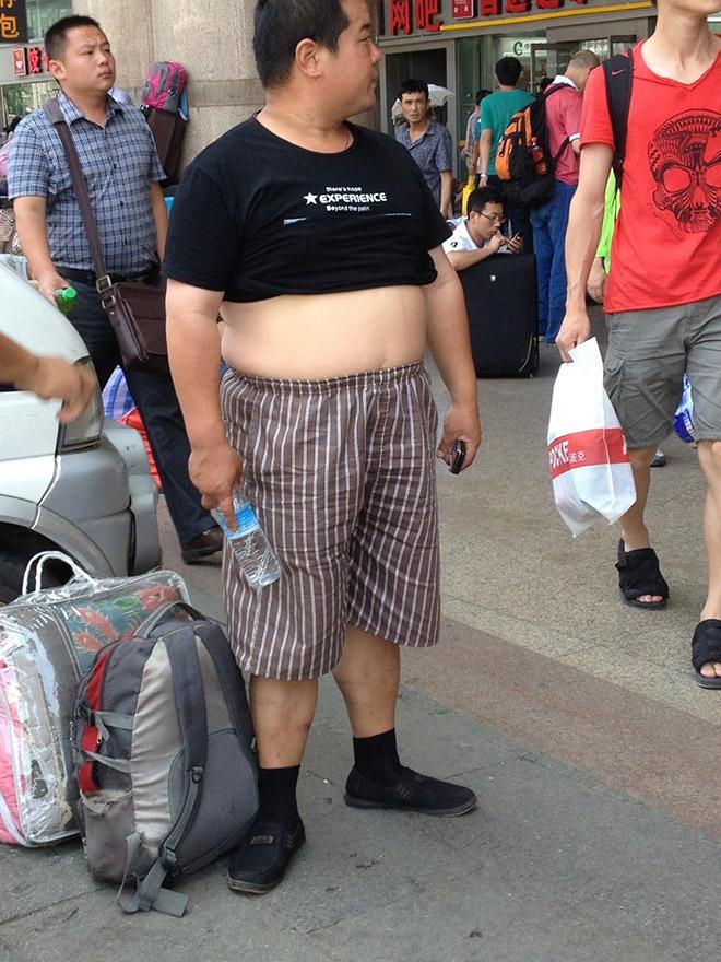 Beijing bikini in all its glory.