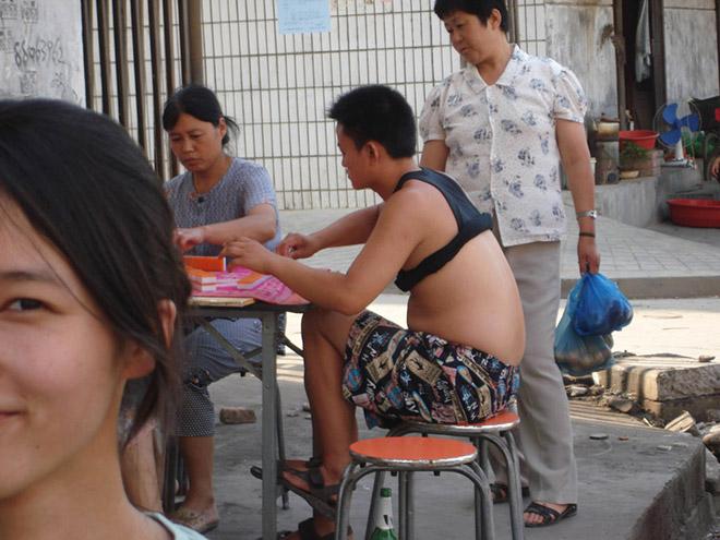 Epic Beijing bikini.