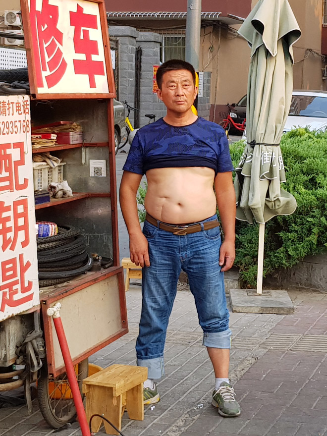 Lovely Beijing bikini example.