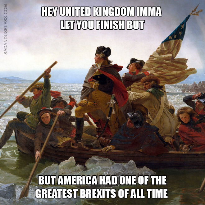 USA had a better Brexit!
