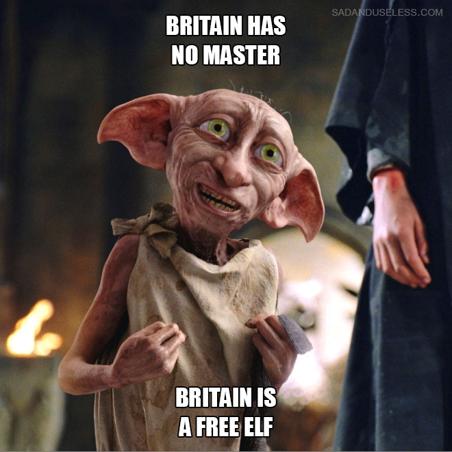 Britain is finally free!