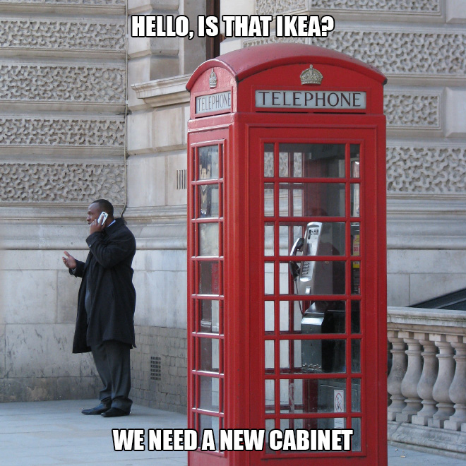Hello, is that Ikea?