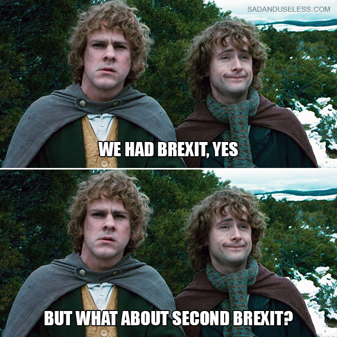We had Brexit, yes but...