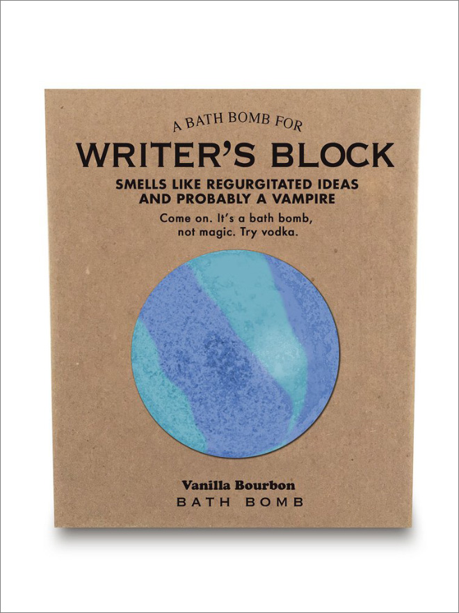 Smells like writer's block.