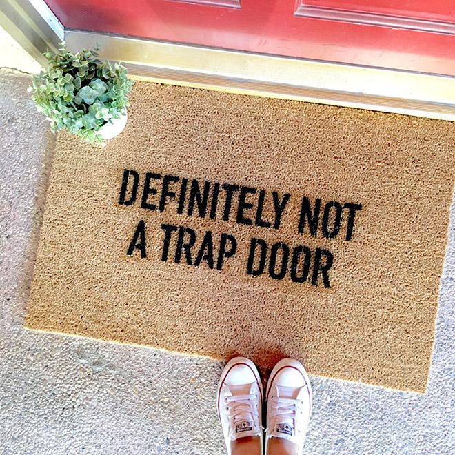 NOT a trap door.