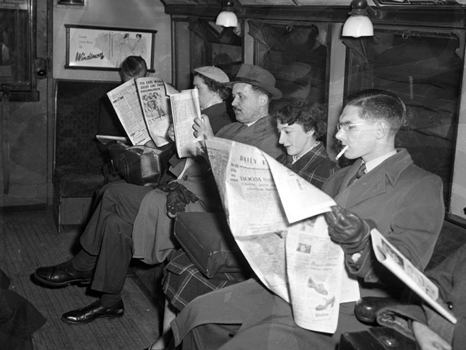 The good old days before evil smartphones.