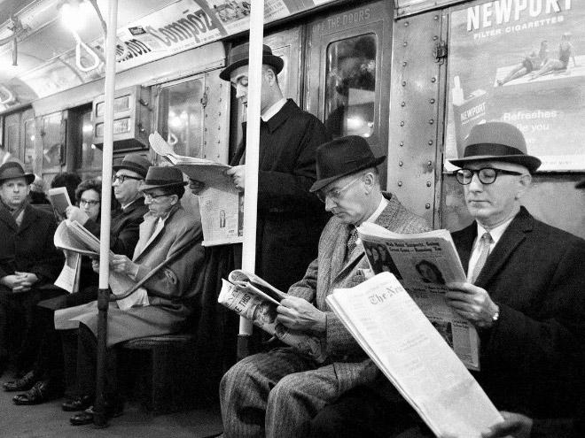 Vintage subway photo.