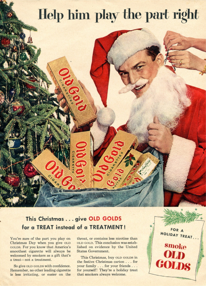 This Christmas... give Old Golds!