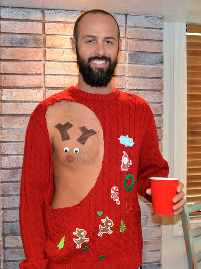 Ugliest Christmas Sweater.Some Of The Ugliest Christmas Sweaters Of All Time