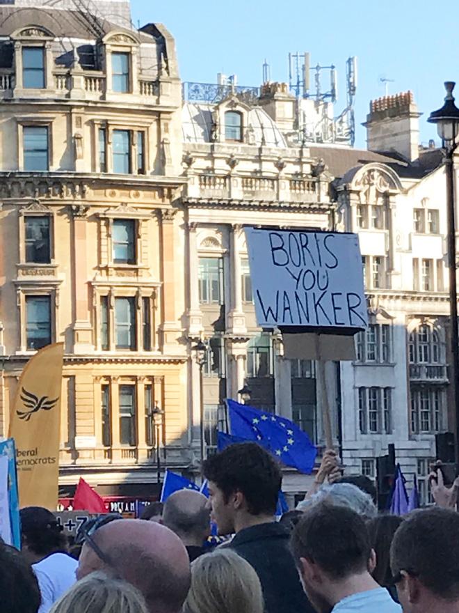 Boris, you w*nker!