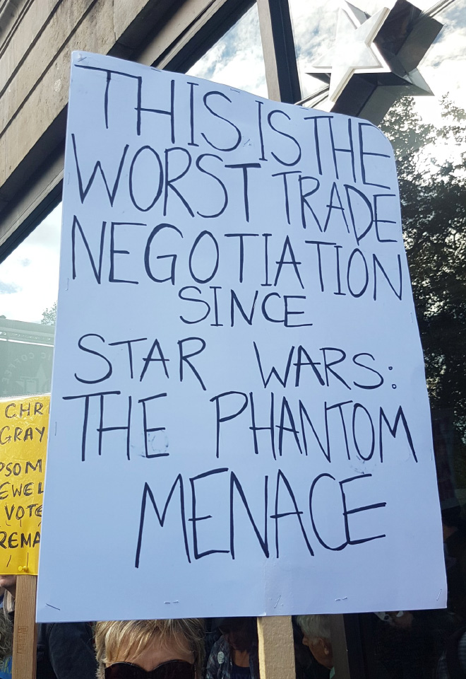 The worst trade negotiation since...