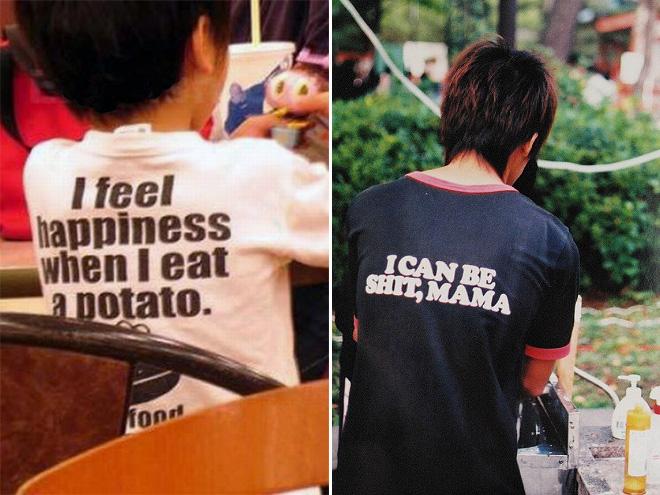 I feel happiness when I eat potato.