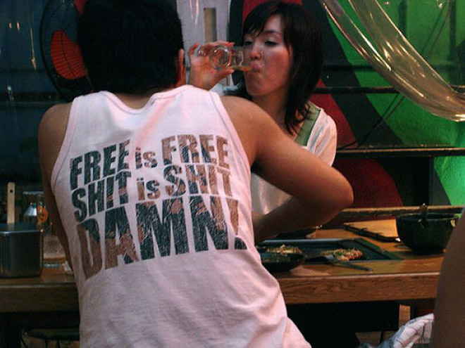 Free is free...