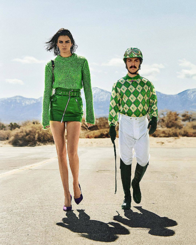 Kirby Jenner and Kendall Jenner.