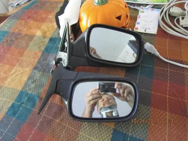Car mirrors for sale. Any takers?