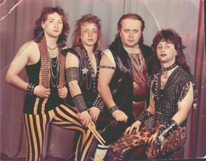 The manliest heavy metal band ever.