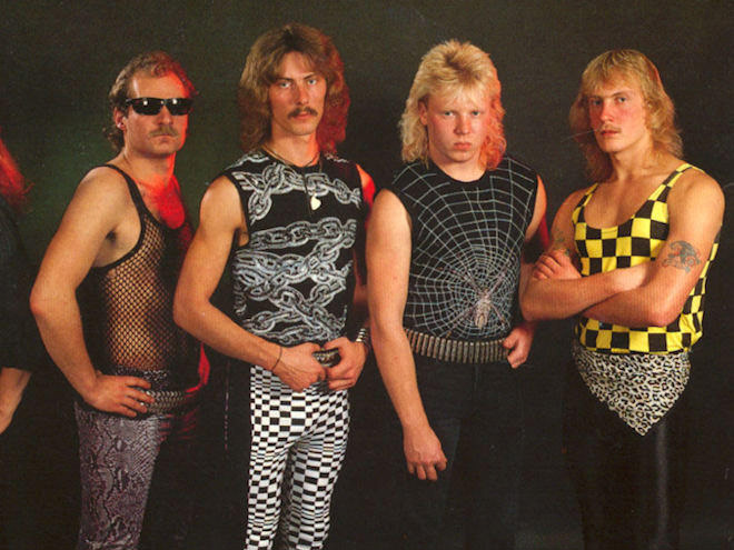 Is this the coolest band photo of all time or what?