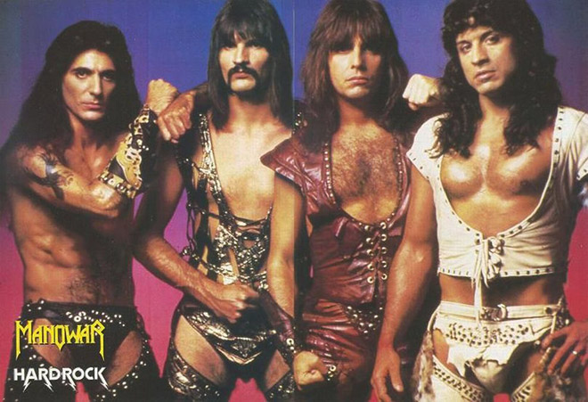 Manowar: the manliest band on Earth.