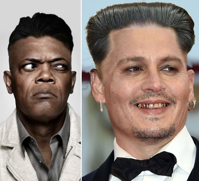 Hollywood celebrities with Kim Jong-Un hairstyle.