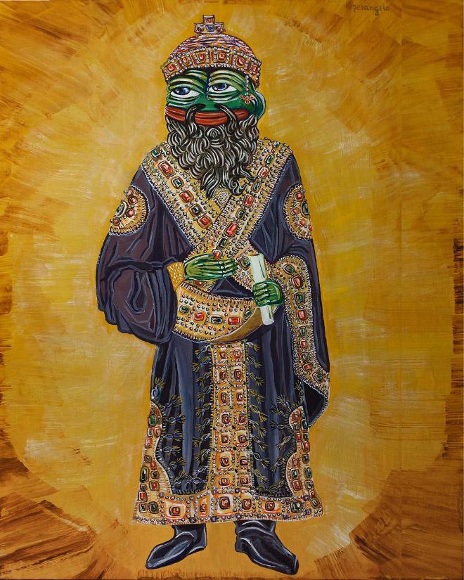 Pepe The Byzantine Emperor.